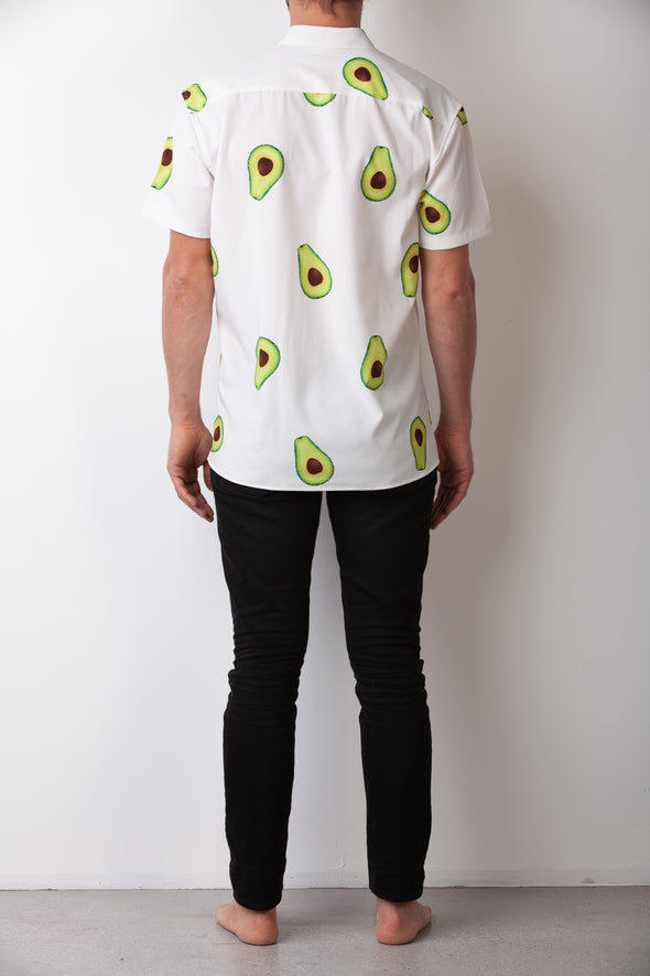 White Avocado Breakfast Shirt