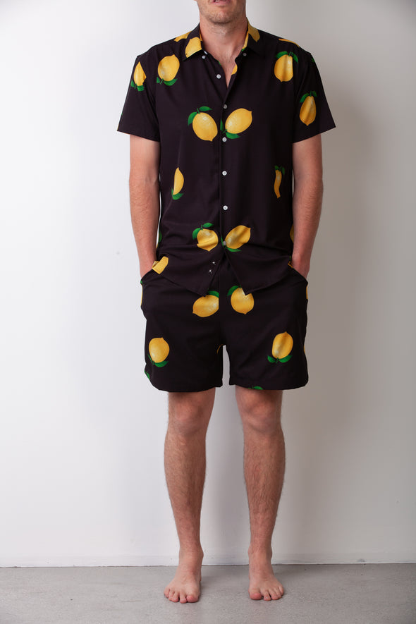 Black Lemon Breakfast Shirt Combo