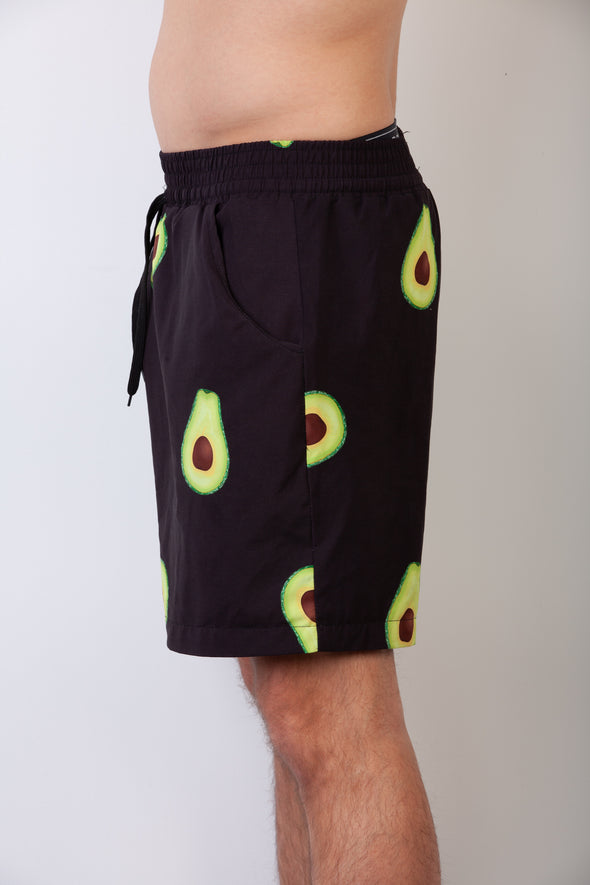 Black Avo Breakfast Shirt Shorts