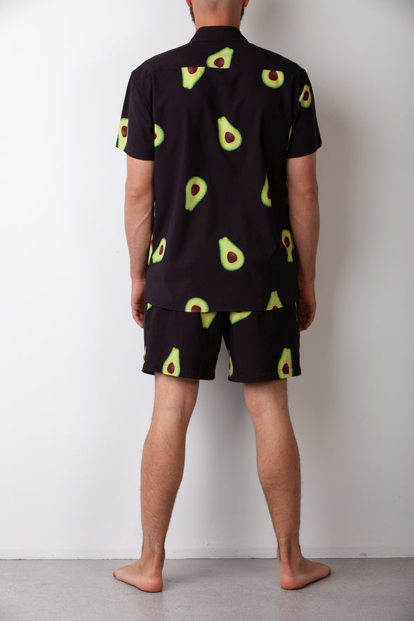 Black Avo Breakfast Shirt Combo