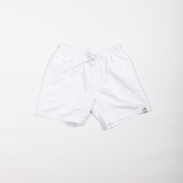 White Breakfast Shirt Shorts