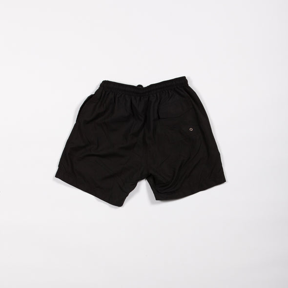 Black Breakfast Shirt Shorts