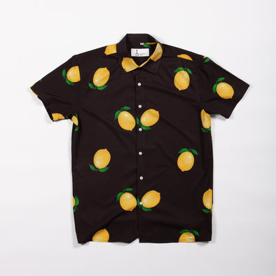Black Lemon Breakfast Shirt