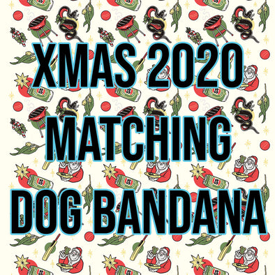 Aussie christmas 2020 Dog Bandana - Presale