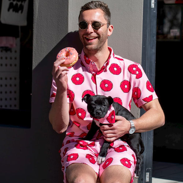 the Donut Papi Breakfast Shirt Combo