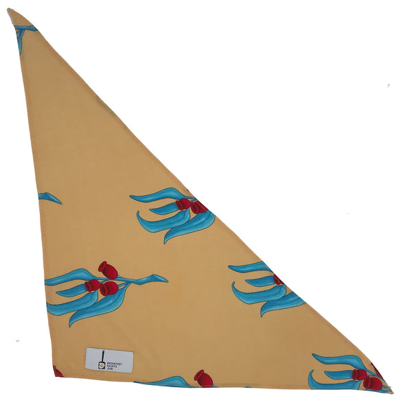 the Gum Nut (G-NUT) dog Bandana