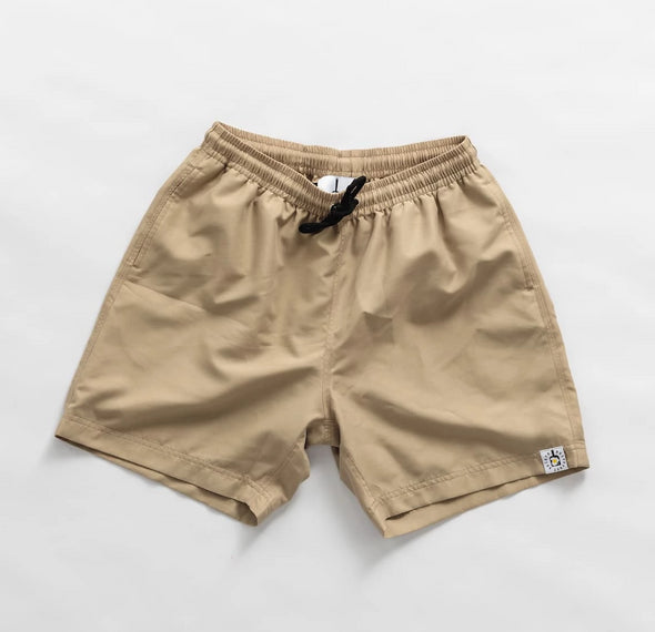 Tan Breakfast Shirt Shorts