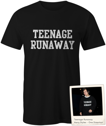 Teenage Runaway - Harry Styles - One Direction