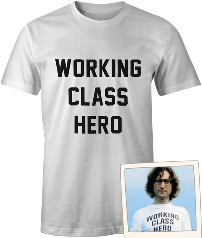 Working Class Hero worn by John Lennon of The Beatles