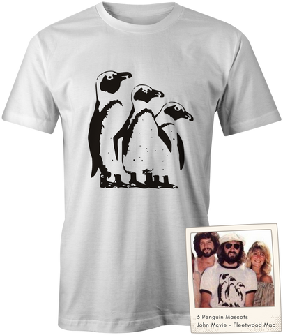 The 3 Penguin Mascots - John McVie - Fleetwood Mac