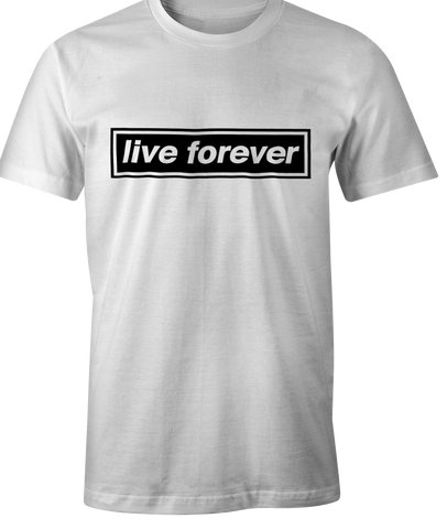 Live Forever T-shirt - Oasis - Liam & Noel Gallagher