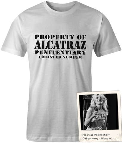 Alcatraz Penitentiary - Blondie -Debbie Harry