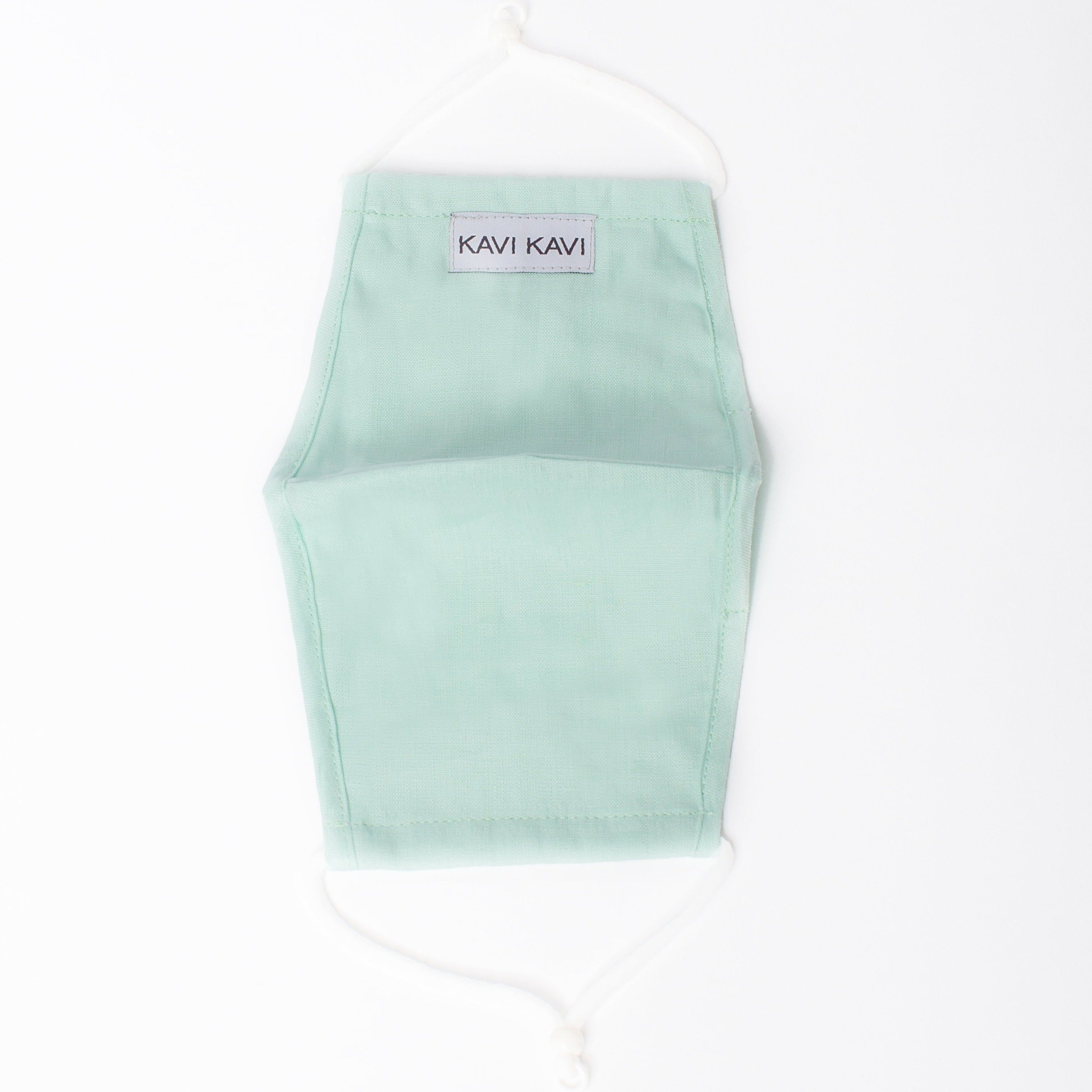 Mint 3 Layer Linen Mask