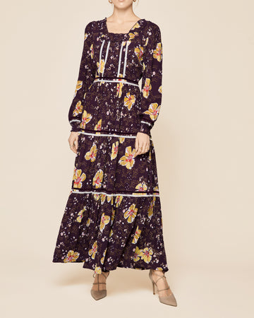 byTiMo Decorated Boho Gown