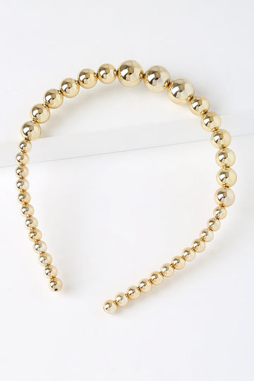 Petit Moments Blair Gold Headband