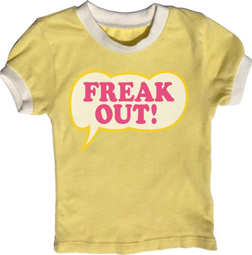 Freak Out Girls Ringer Tee