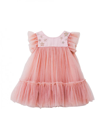 Luna Luna Hope Dress in Cameo Pink