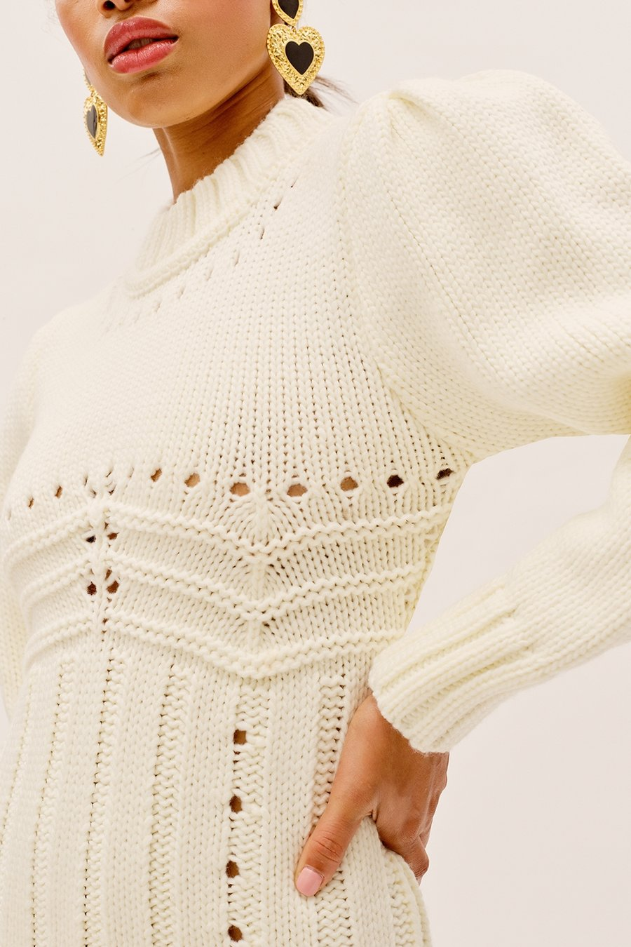 For Love & Lemons Jules Sweater Dress