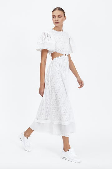 Maia Bergman Caroline Dress in Ivory