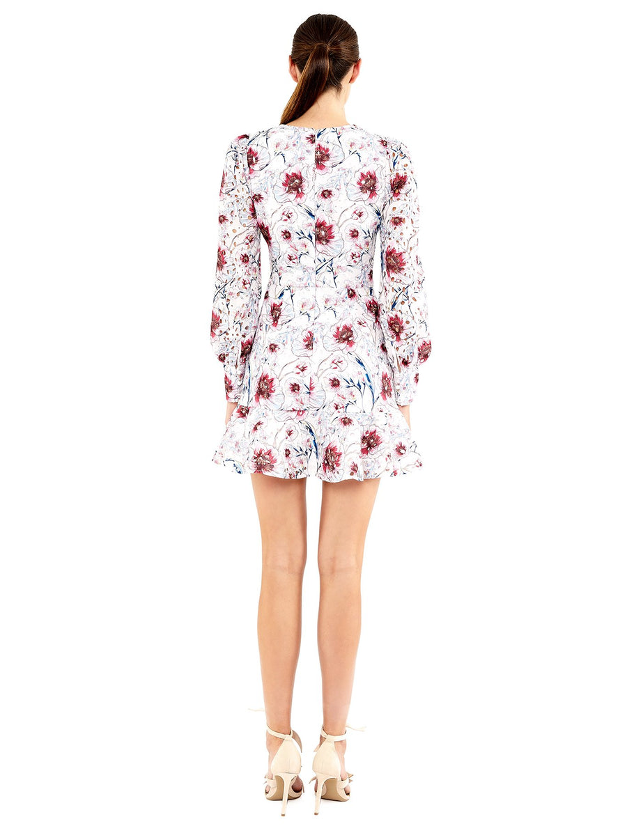 La Maison Talulah Bonita Long-sleeve Mini Dress