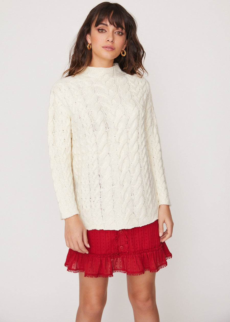 Lost + Wander Cotton Wood Sweater