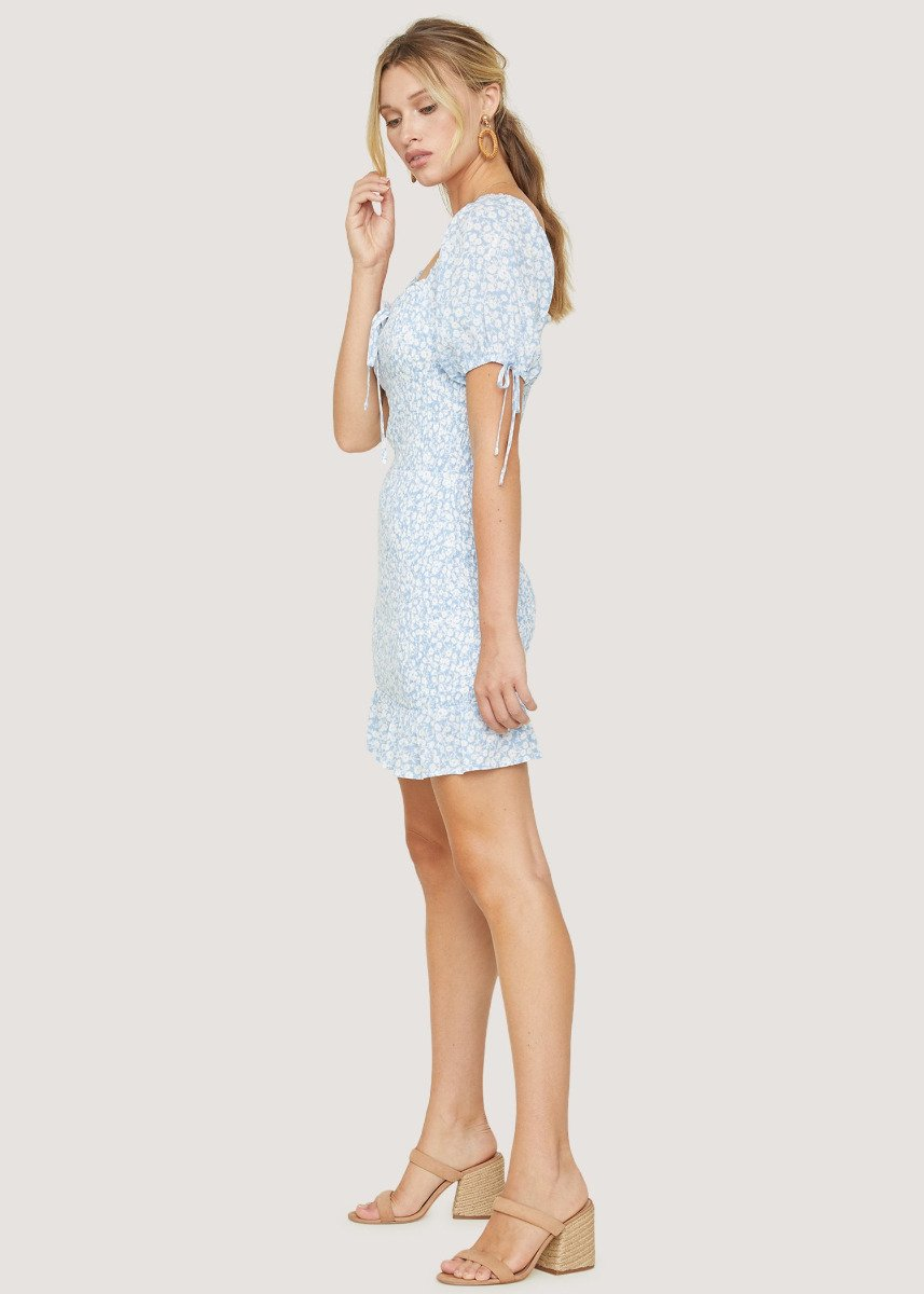 Lost + Wander Seaside Breeze Mini Dress