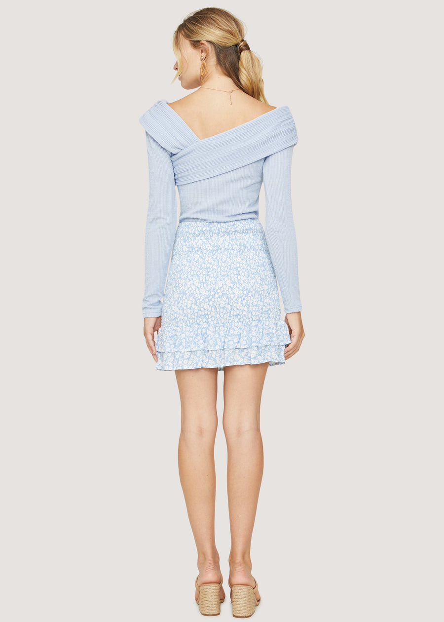 Lost + Wander Seaside Breeze Mini Skirt