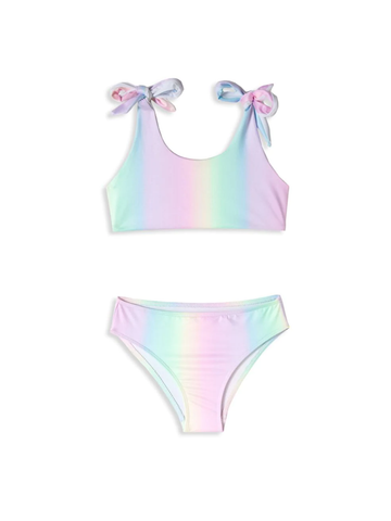 Rainbow Tie Shoulder Bikini
