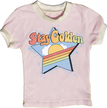 Stay Golden Girls Ringer Tee