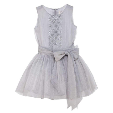 Luna Luna Marion Dress in Silver