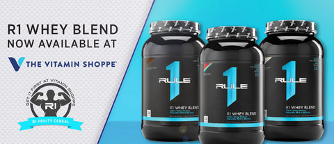 Rule 1 Proteins™ now available at The Vitamin Shoppe®
