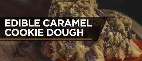 LIGHTLY SALTED CARAMEL EDIBLE COOKIE DOUGH