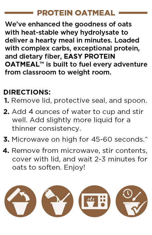 Protein Oatmeal Directions