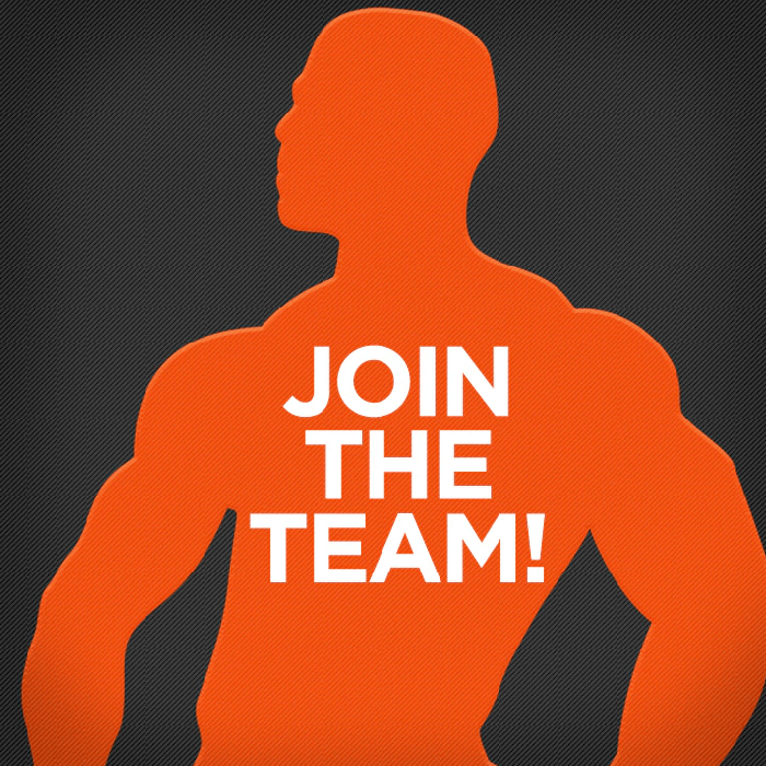 Want to Join the team?