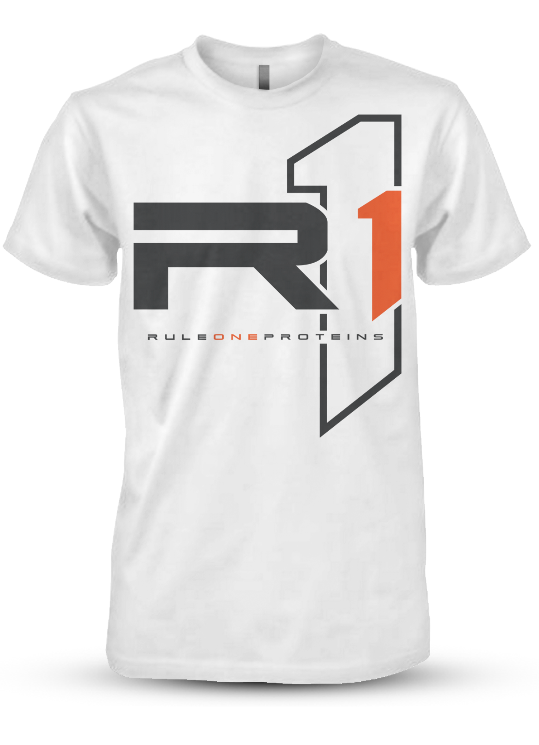 R1 Logo T-Shirt - White