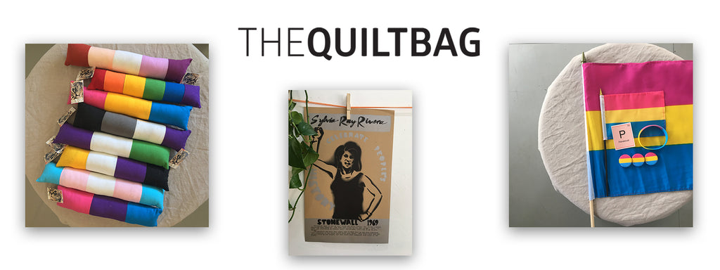 The QUILTBAG pride shop