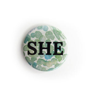 Pronoun Buttons