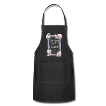 Load image into Gallery viewer, Be Gay, Do Criminis! Apron - black