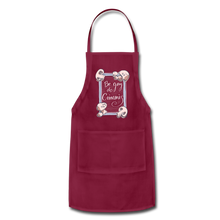 Load image into Gallery viewer, Be Gay, Do Criminis! Apron - burgundy