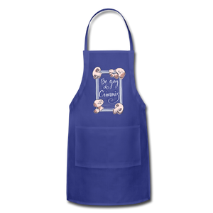 Be Gay, Do Criminis! Apron - royal blue