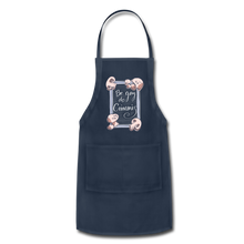 Load image into Gallery viewer, Be Gay, Do Criminis! Apron - navy