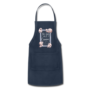 Be Gay, Do Criminis! Apron - navy
