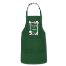 Load image into Gallery viewer, Be Gay, Do Criminis! Apron - forest green