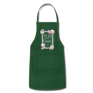 Be Gay, Do Criminis! Apron - forest green