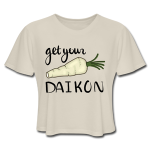Get Your Daikon Crop Top - dust