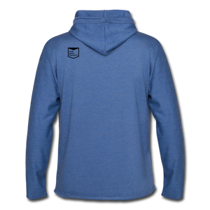 Gayven (Gay Raven) Lightweight Hoodie - heather Blue