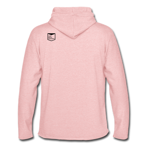 Gayven (Gay Raven) Lightweight Hoodie - cream heather pink