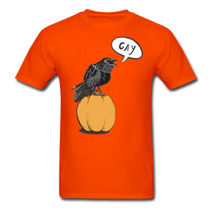 Gayven (gay raven) T-Shirt - orange