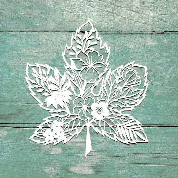 Maple Leaf Flower Metal Cutting Dies