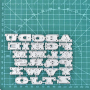 26 Alphabet Metal Cutting Die